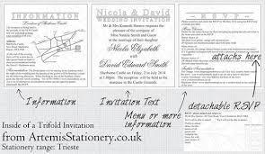 Tri Fold Wedding Invitations Template Types Of Bespoke Wedding Invitations Part 2 Paperblog