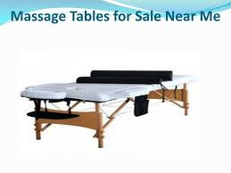 massage tables for sale near me ppt massage tables for sale powerpoint presentation id 7587472