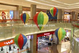 2015 ceiling decoration with hanging ornaments for