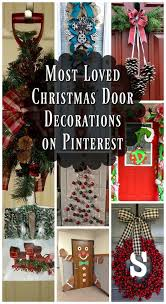 Christmas Door Decorating Contest Ideas Most Loved Christmas Door Decorations Ideas On Pinterest All