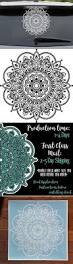 half mandala window decals car decals wall decal vinyl decal