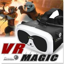 online cheap panda vr box unique design 3d vr glass headsets for
