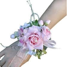 Wedding Wrist Corsage Wildgirl Wedding Bridesmaid Bride Prom Bridal Wrist Corsage Hand