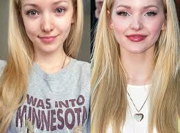 dove cameron from stars without makeup the disney channel star posted a makeup free selfie