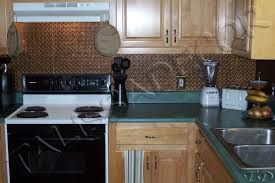 faux kitchen backsplash faux tin kitchen backsplash roll wc20 antique copper home design