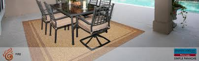 Amazon Prime Furniture by Amazon Com Brown Jordan Prime Label Outdoor Furniture Rug 5x7