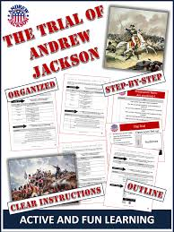 andrew jackson hero or villain students put andrew jackson on