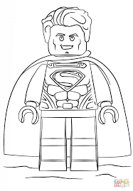 lego superman coloring free printable coloring pages