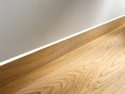 Skirting For Laminate Flooring Flush Mount Skirting Board With Led By Admonter Baseboards