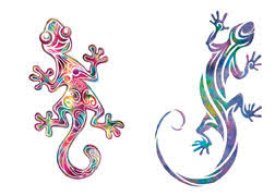 gecko tribal tattooforaweek temporary tattoos largest temporary