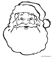 print face santa claus freee02a coloring pages u0027s color