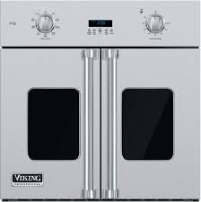 viking vsof730ss 30 inch single french door wall oven with 4 7 cu