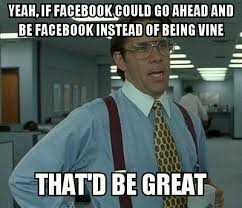 Relationship Memes Facebook - my feelings toward facebook lately meme guy
