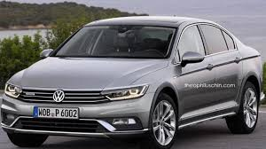 volkswagen sedan 2015 volkswagen passat alltrack sedan rendered