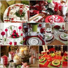 ideas how to decorate christmas table christmas table settings round up 27 fabulous ideas