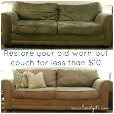 how to fix a sagging sofa save your couch how to clean a microfiber couch cleaning diy
