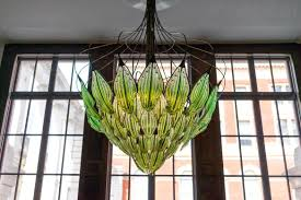 Gun Chandelier by This Algae Filled Glass Chandelier Is Your Perfect Answer To An