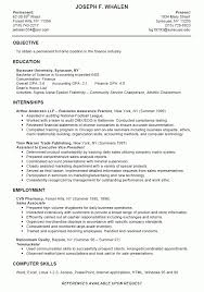 Sample Of Resume For Summer Job by Example College Student Resume Best Resume Collection
