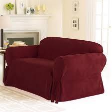 Surefit Sofa Slipcovers by Sure Fit Soft Suede Sofa Slipcover Walmart Com