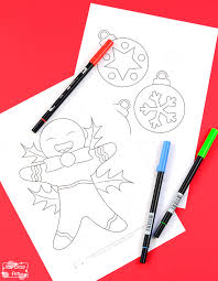 christmas coloring pages kids itsy bitsy fun