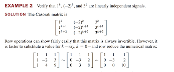 linear difference equation with matrices mathematics stack exchange