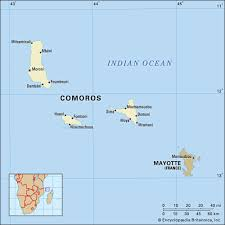 map comoros comoros culture history britannica