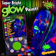 glow in the makeup glow in the black light makeup and nail