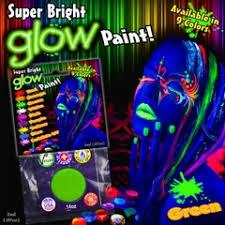 glow in the dark u0026 black light makeup and nail polish