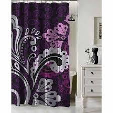 Shower Curtains In Walmart Outstanding Purple Shower Curtain Walmart 69 For Blue Curtains