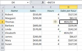 per 250 en el div how to avoid div 0 and other error messages in excel easy excel com