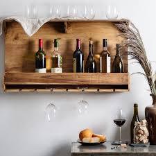 home essentials u0026 beyond home essentials reclaimed wood wine rack