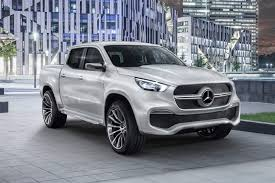 a pick up in demand merc x class on sale before it u0027s even been