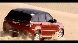 land rover desert all new range rover sport race in empty quarter desert youtube