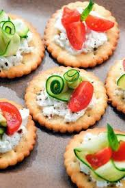 easy canapes simple and easy baby shower food ideas dessert inspirations