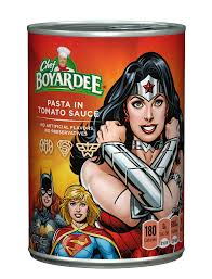 justice league chef boyardee and the justice league mealtime super heroes chef