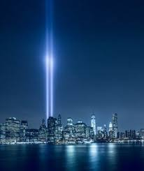 9 11 Memorial Lights A View Of The World Trade Center 9 11 11 Tribute In Light From