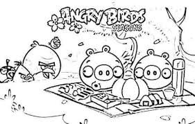 coloring pages angry birds print download free printable