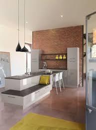 cuisine avec bar pour manger modele cuisine ouverte avec bar 2 cuisine avec coin repas table