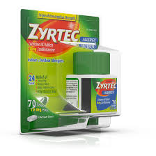 mg zyrtec prescription strength allergy medicine tablets with