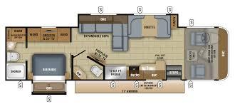 2018 precept class a motorhome floorplans u0026 prices jayco inc