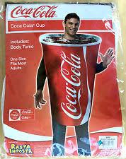 Coca Cola Halloween Costume Coca Cola Costume Ebay
