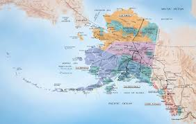 Physical Map United States Alaska Physical Map Usa