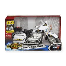 minecraft motorcycle fast lane light u0026 sound police motorcycle toys