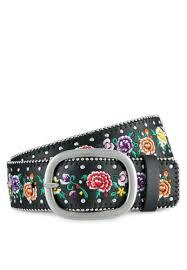 floral belt buy topshop chain embroidered floral belt online on zalora singapore