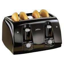 target black friday 6pm est sunbeam 4 slice toaster black 003911 100 000 target