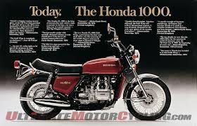 honda gl honda gold wing turns 40 history making motorcycles