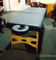 used portable massage table for sale used custom craftworks athena portable massage table chair for