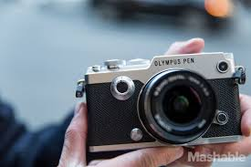 olympus pen f a slick camera that caters to the film nostalgic