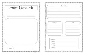 animal report template diorama template pictures inspiration resume ideas