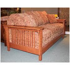 trend sofa trend manor mission sleeper sofa broadway furniture